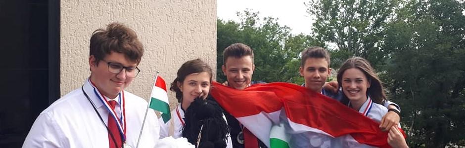 Ezüstérmes a magyar csapat Kutaisziben!